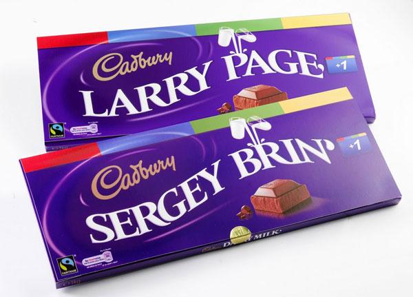 Brin Page Cadbury
