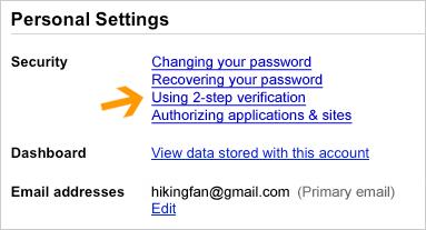 Authentification Google 1