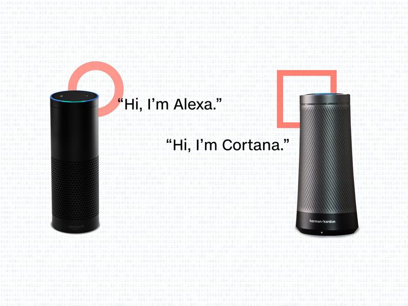 Amazon et Microsoft travaillent ensemble dans la recherche vocale