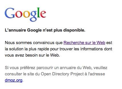 Google Directory HS