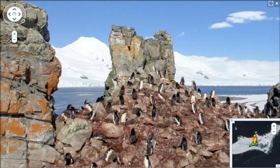 Google Antarctique