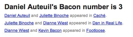 bacon number daniel auteuil
