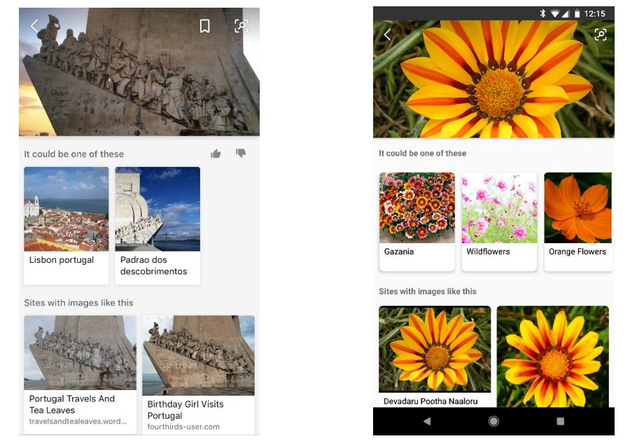 Visual Search : Bing propose la recherche par appareil photo