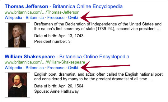 Bing Britannica