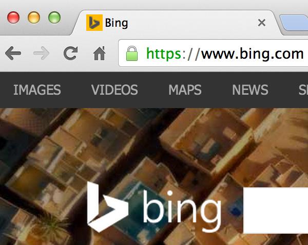 bing https