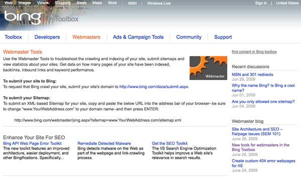 Bing Toolbox