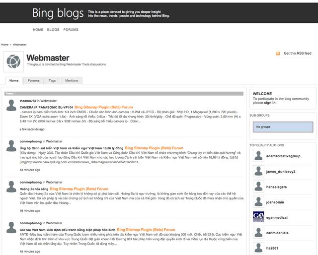 bing-webmaster-forums