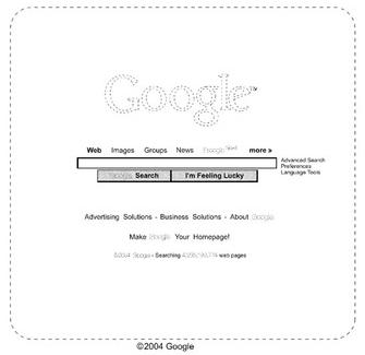 Brevet Google page d'accueil