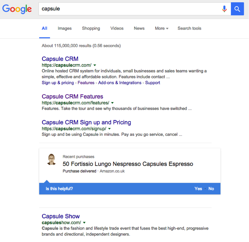capsule-serp-google