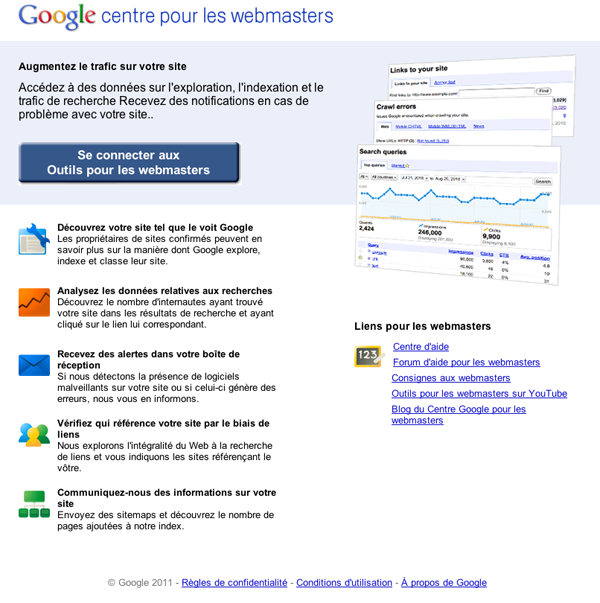 Aide webmaster Google