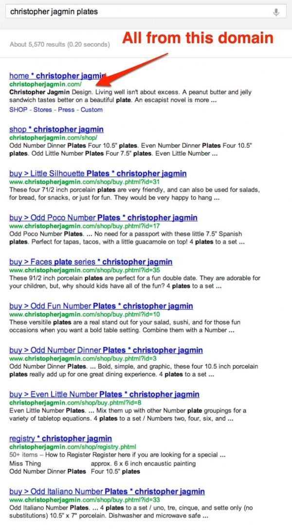 Google clustering