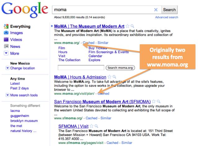 Clustering Google