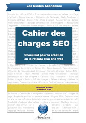 Guide PDF : Cahier des Charges SEO - Check-list pour la création ou la refonte d'un site web