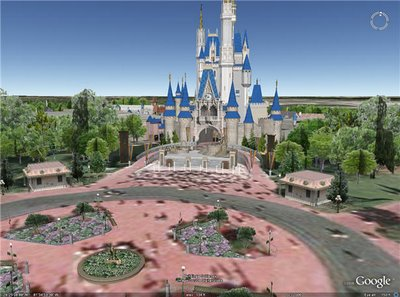 Disney Google Earth