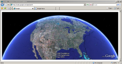 Google Earth in a browser