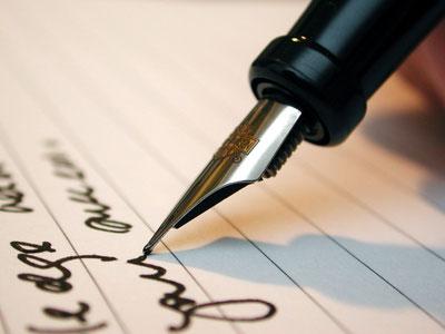 Travail d'écriture ecriture
