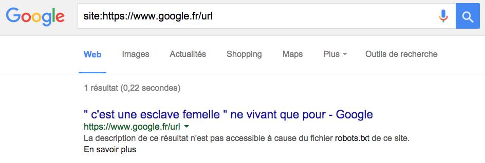 esclave-femelle-google