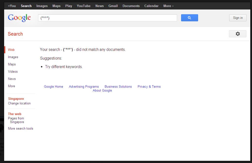 Fail Google