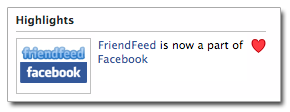 Friendfeed Facebook