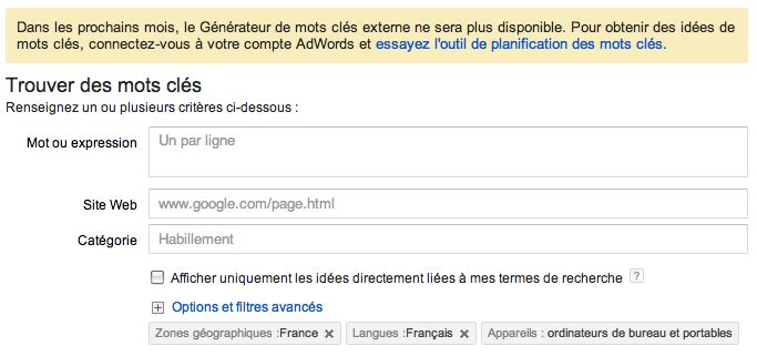 generateur google 2013