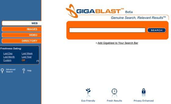 Gigablast beta