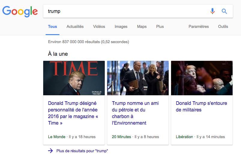 google-a-la-une-1