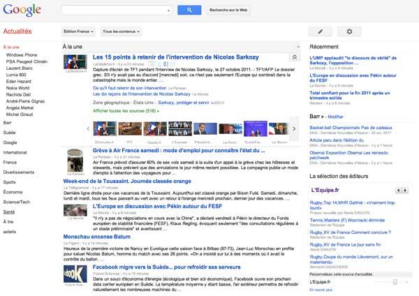 Google News 2011