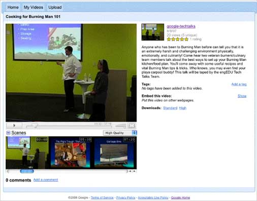 Google Video for business