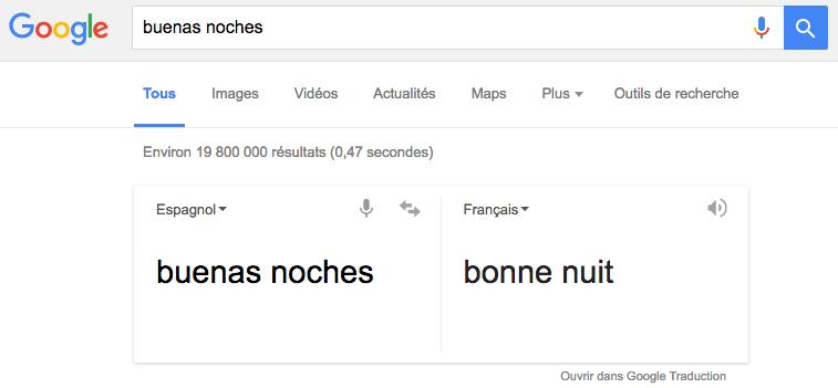 google-buenas-noches