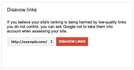 google desaveu lien