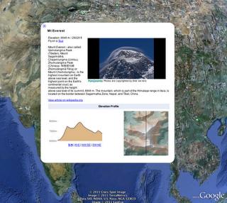 Google Earth Montagnes 2