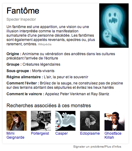 google halloween fantome