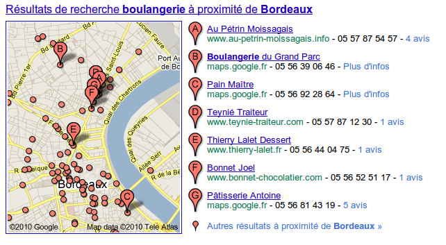 Referencement Local Google France