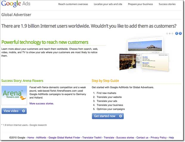 Google Ads for Global Advertisers