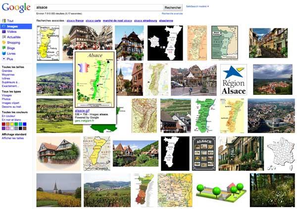 google images france