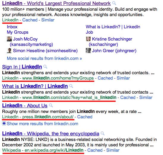Test Google URL