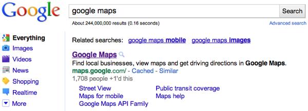 Google Maps +1