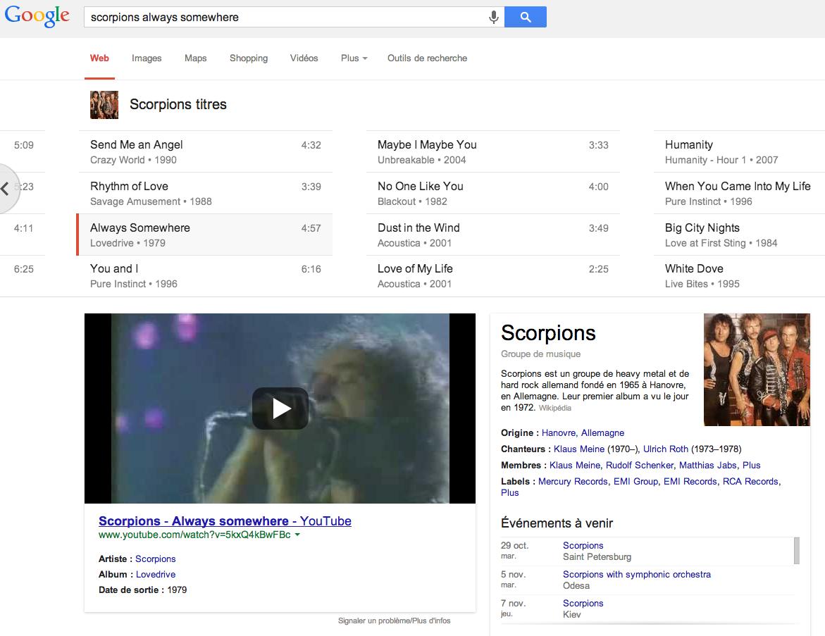 google-musique-serp