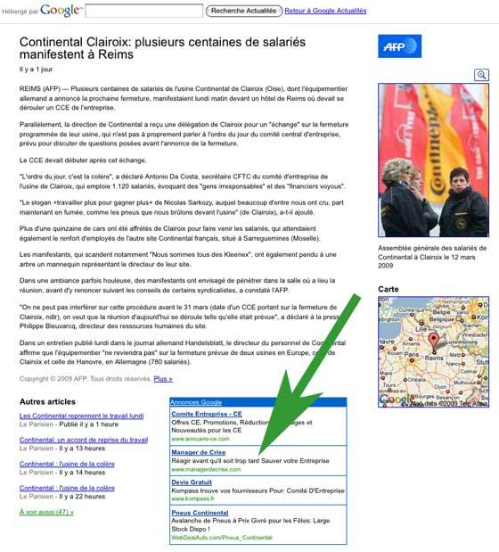 Google News AFP