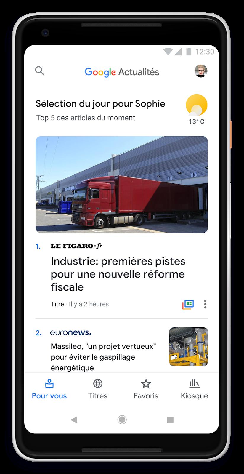 google-news-pour-vous