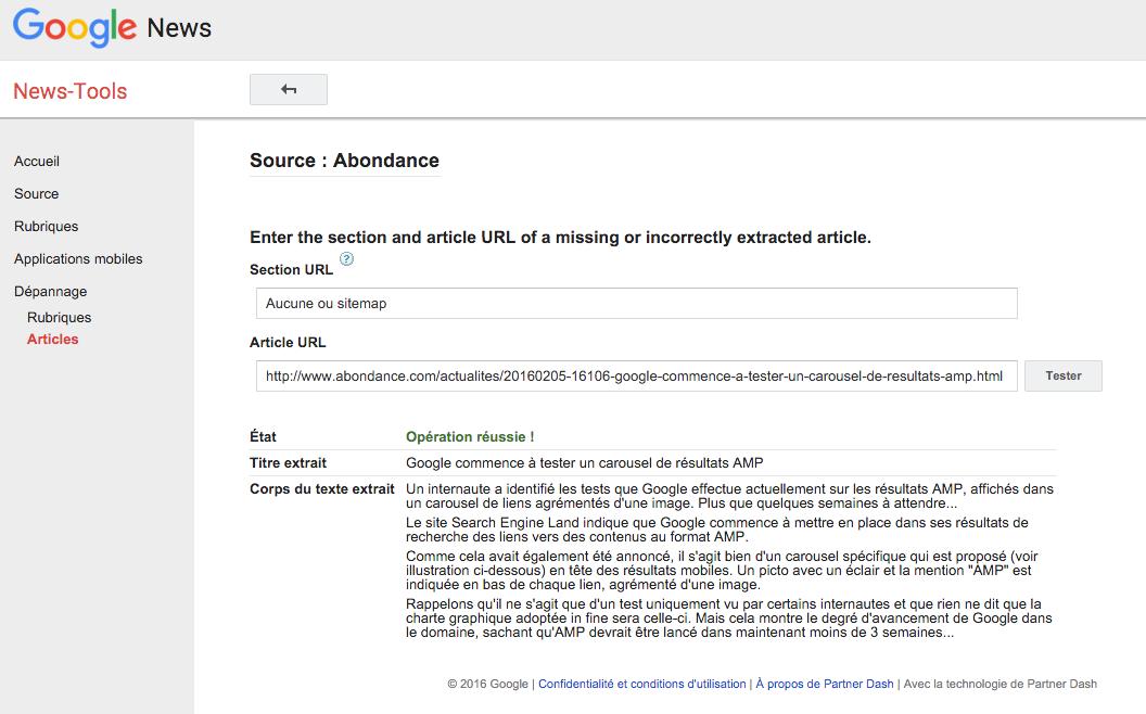 google-news-troubleshooting-tool