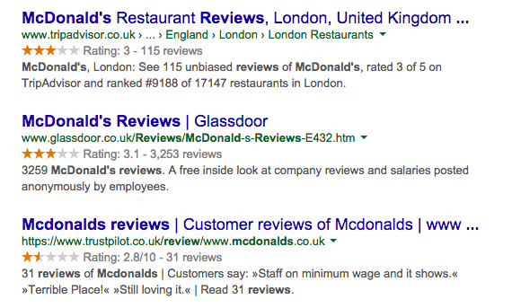 google-orange-stars-ratings-reviews