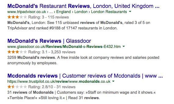 google-orange-stars-ratings-reviews