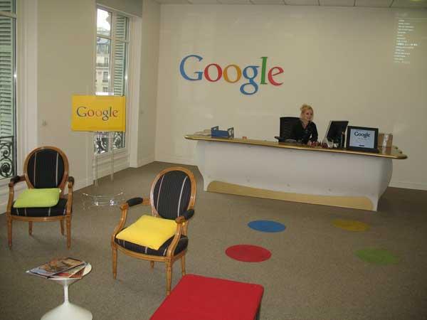 Google Paris Accueil