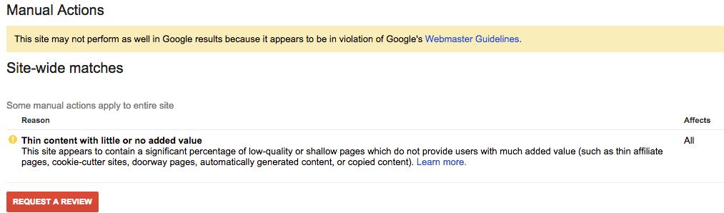 google-penalite-contenu-faible-qualite