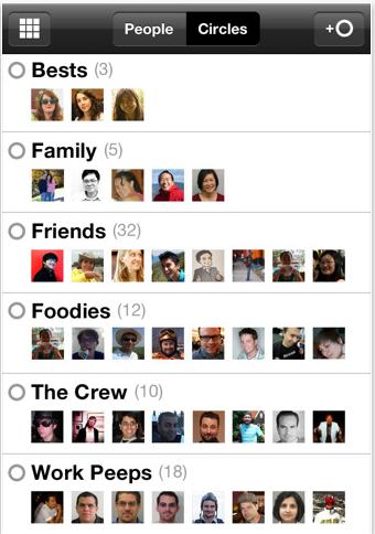 Google Plus iPhone