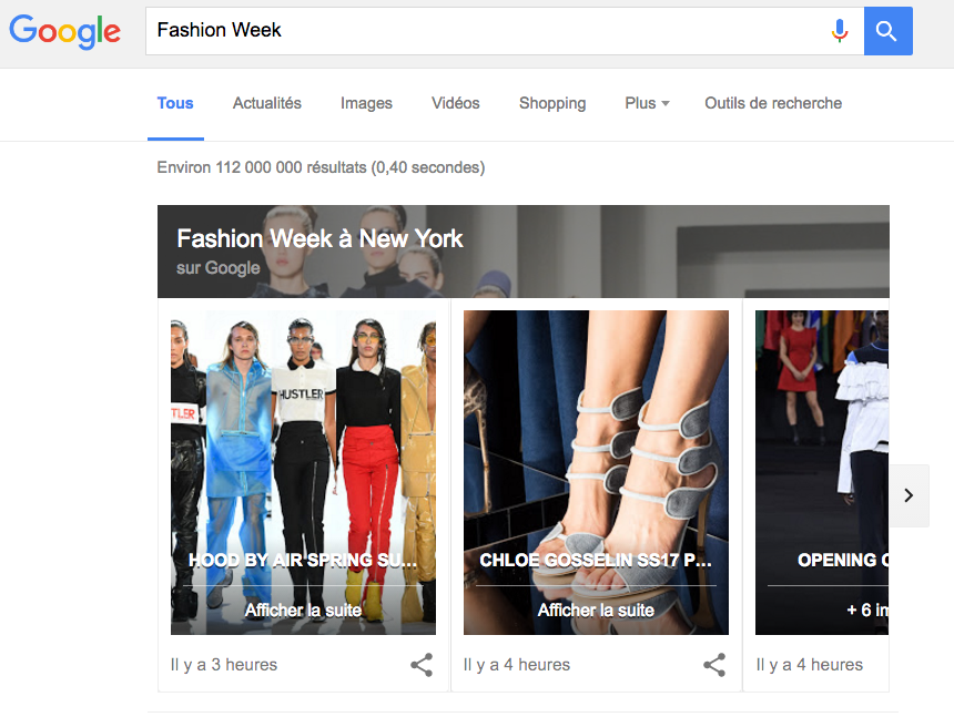 google-podium-fashion-week