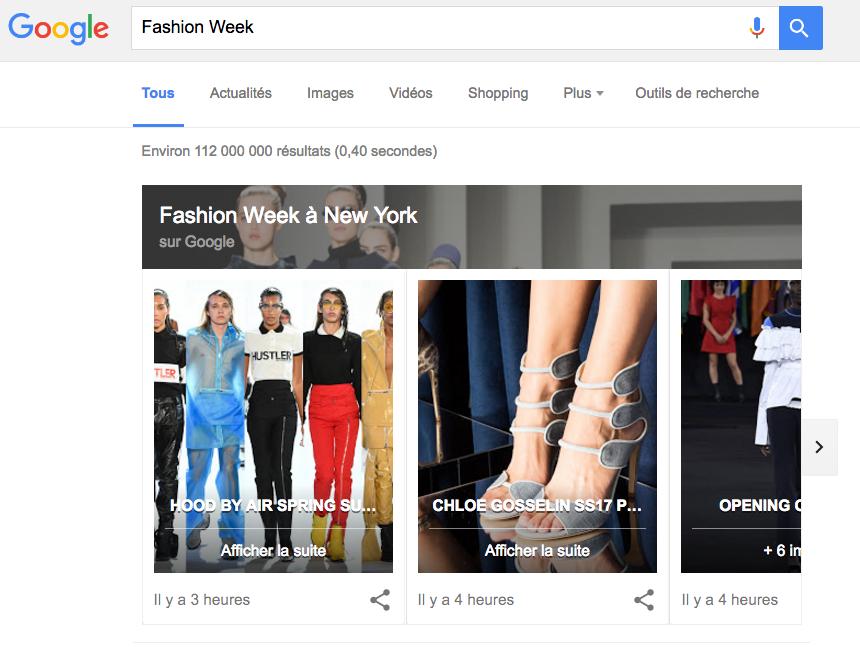 google-podium-fashion-week
