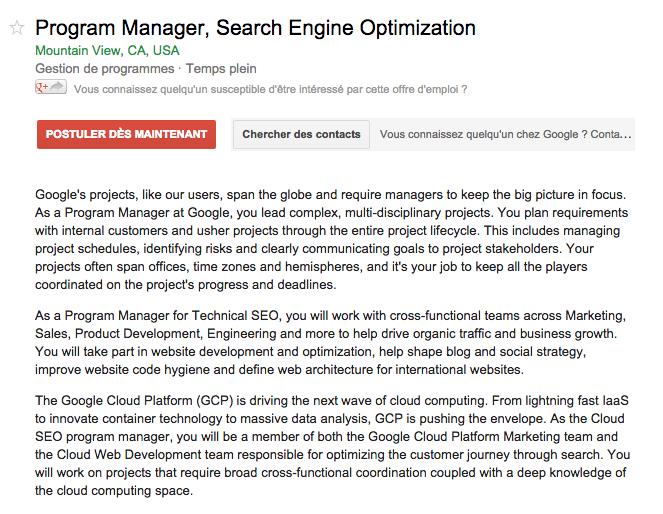 google-program-manager-seo