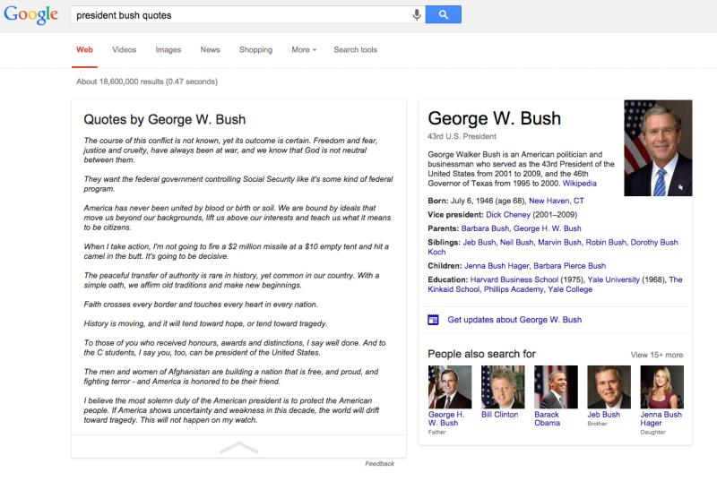 google-quotes-george-bush